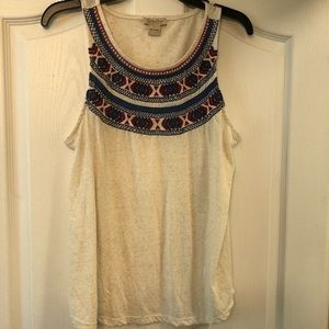 Embroidered Lucky Brand Tank